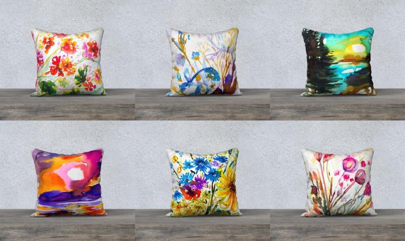 Aperçu de Couvres-coussins/Cushion covers 18 x 18