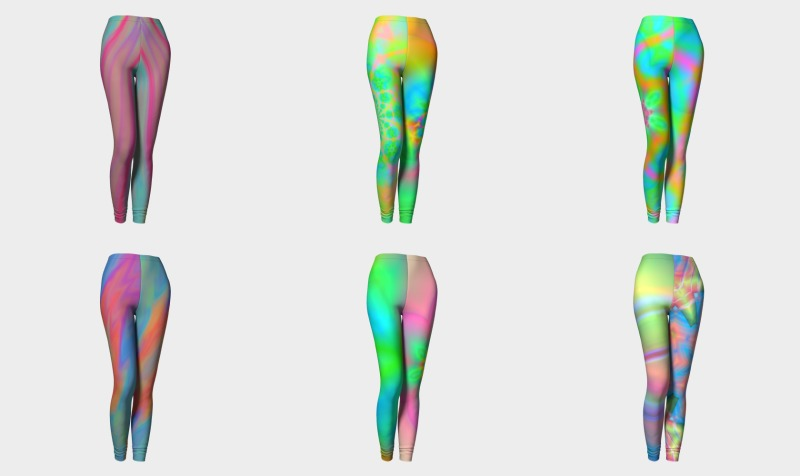 Rainbow Leggings preview