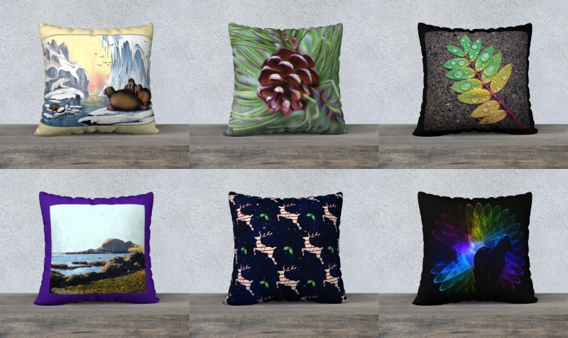 "Throw Pillow Covers-22""x22"" preview"