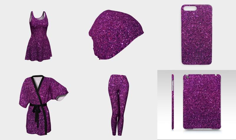 Purple Glitter preview