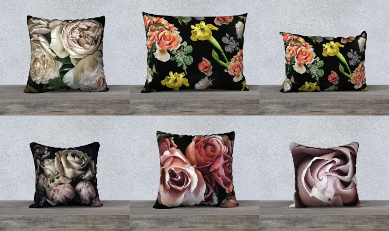 Flower Pillows Cushions preview