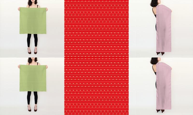 Springtime stripey patterns preview