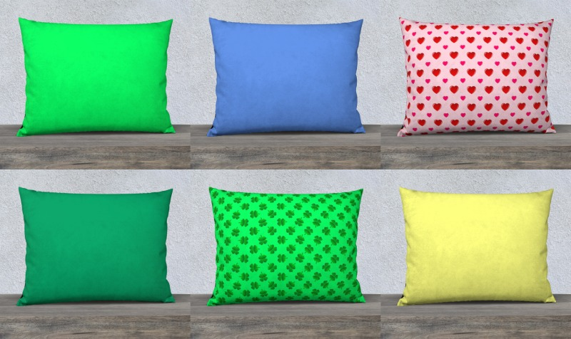 "Throw Pillow Covers-26""x20"" preview"