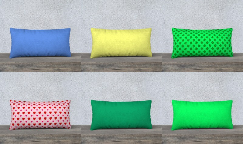"Throw Pillow Covers-24""x12"" preview"