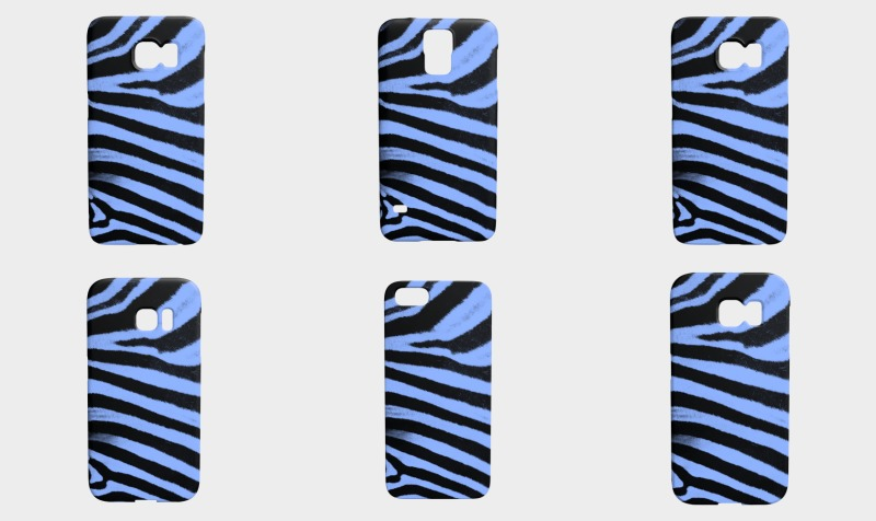 Phone Case EverLuna Blue Sebra preview