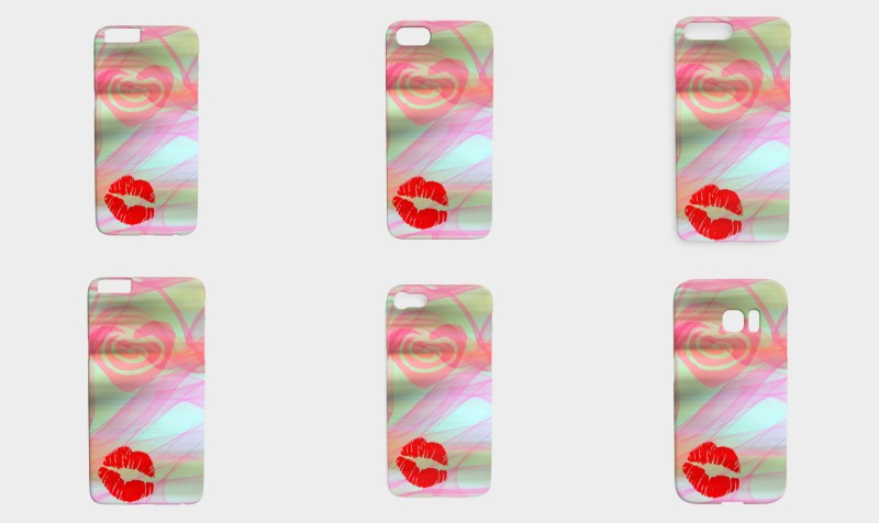 EverLuna Kiss Phone Case preview