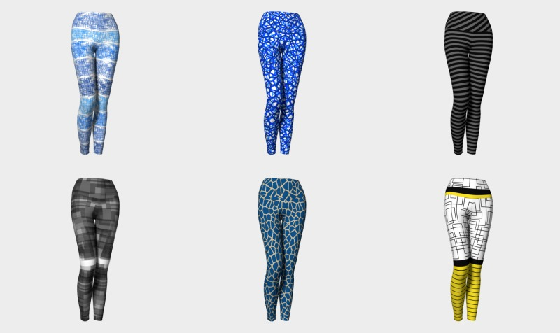 Aperçu de yoga leggings by trebam