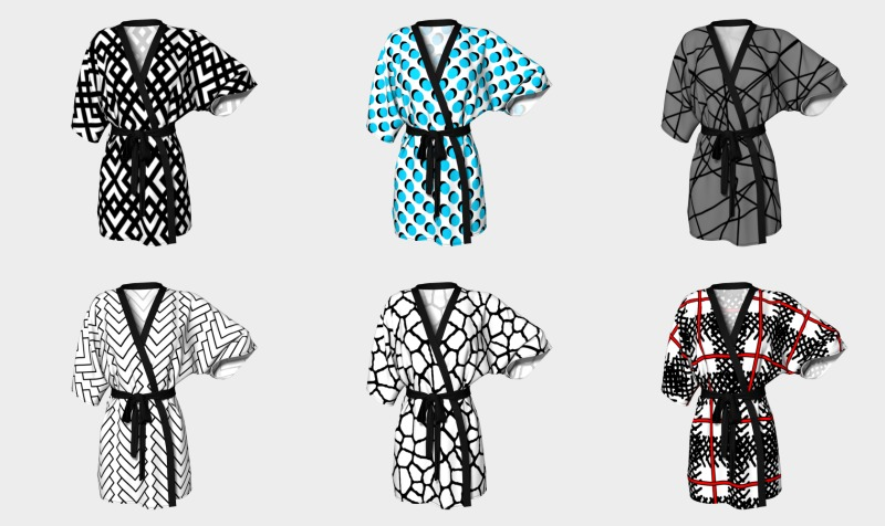 kimono robes by trebam preview