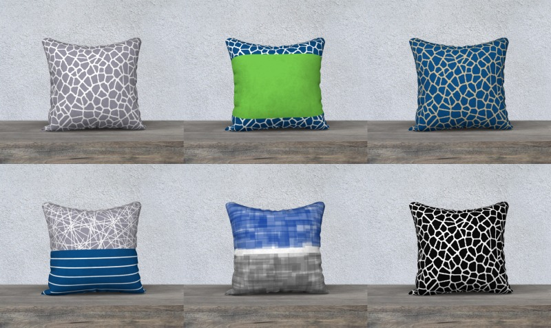 throw pillows by trebam preview