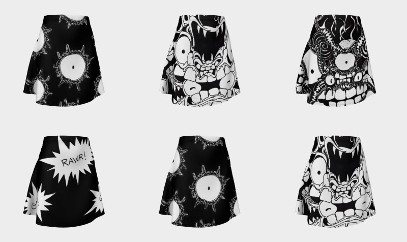 Monster Flare Skirts preview