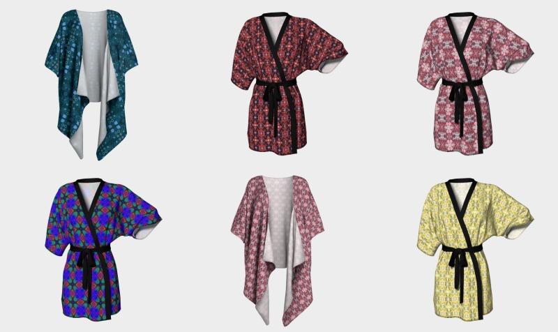 Kimono Robes and Draped Kimonos preview
