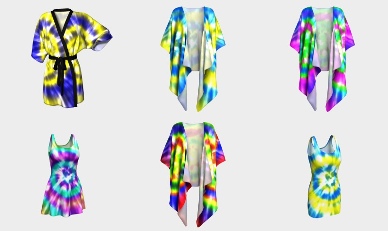 Retro Tie Dye preview