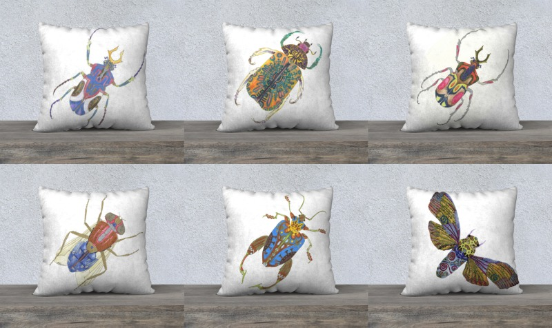 Insect Pillows preview