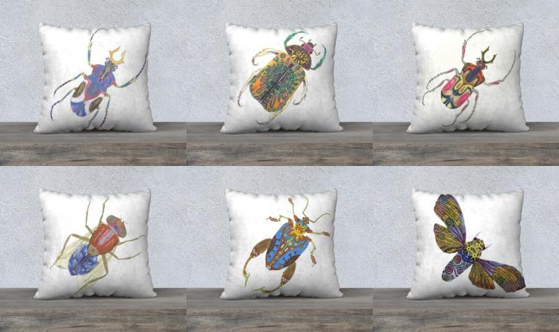 Aperçu de Insect Pillows