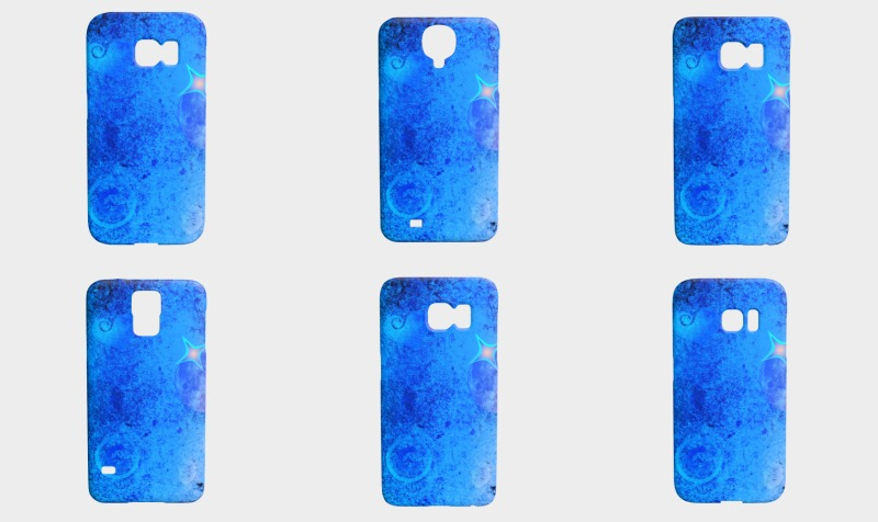 EverLuna Blue Art 1 Phone Case preview