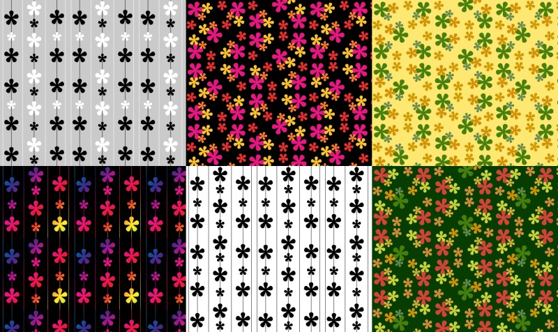 Flowers Fabric preview