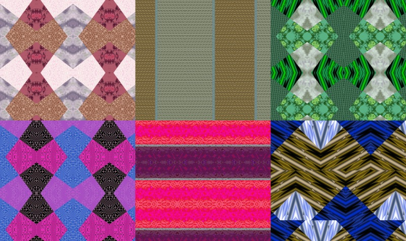 Aperçu de Patchwork Fabric