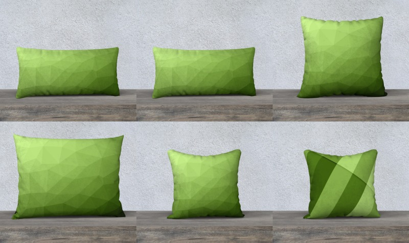 Greenery pillow cases preview