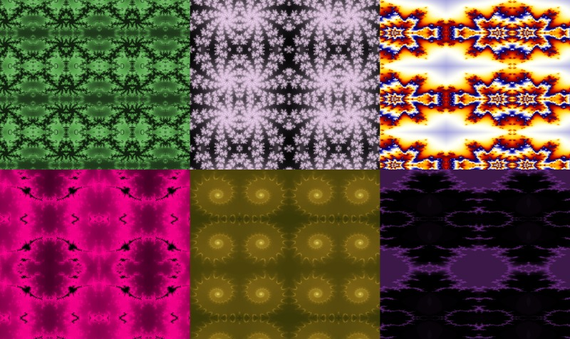 Fractal Art Fabric preview