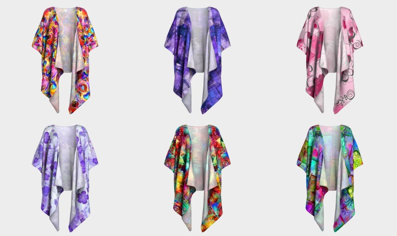 Draped Kimono's preview