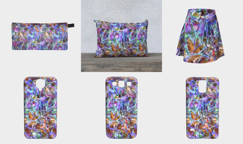 Floral Abstract Stained Glass G268 preview