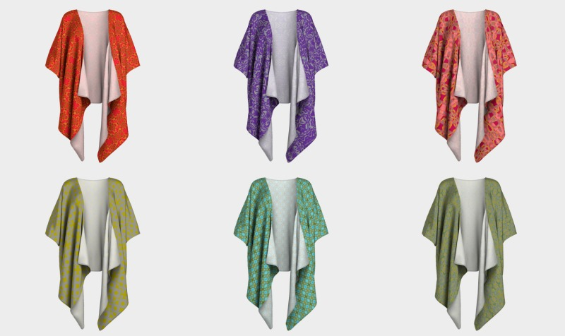 Draped Kimonos preview