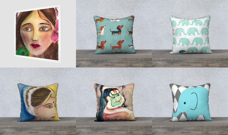 Cushions preview