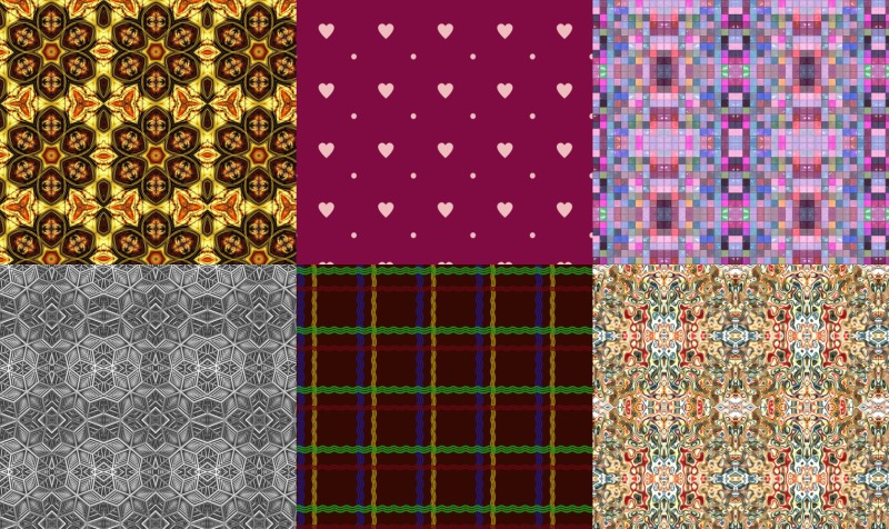 Graphic Design and Patterned Fabric preview