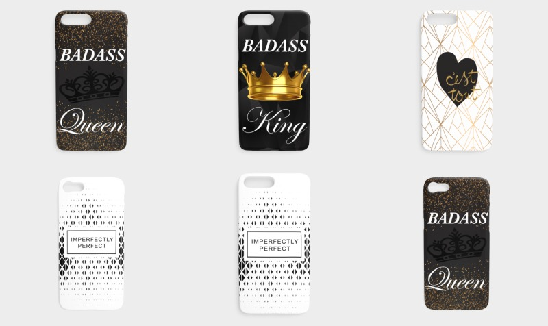 iPhone case preview