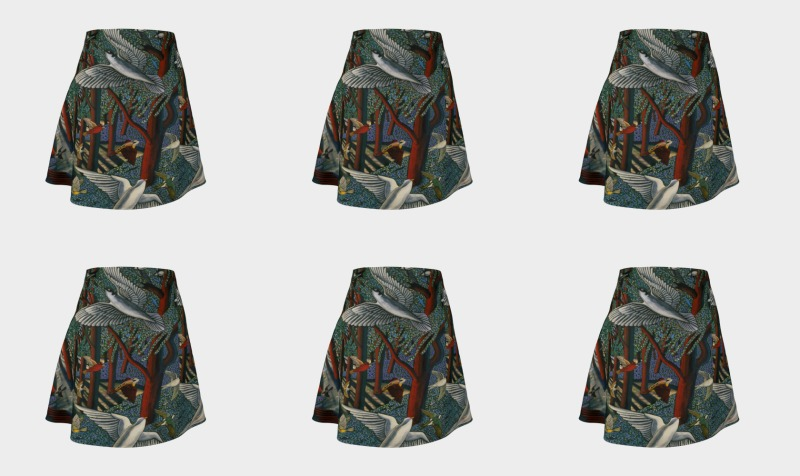 Forest Journey Skirt preview