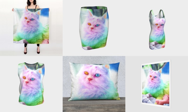 Unicorn Rainbow Cat preview
