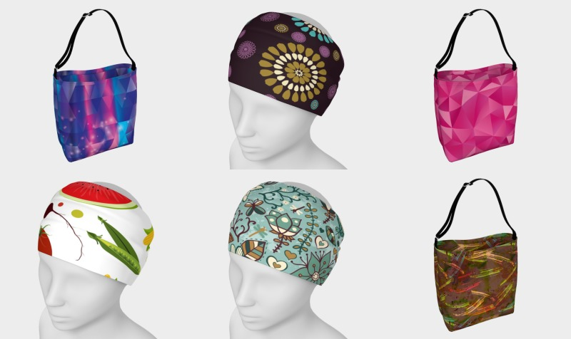 Aperçu de Headbands, Bags, Pencil Cases Accessories
