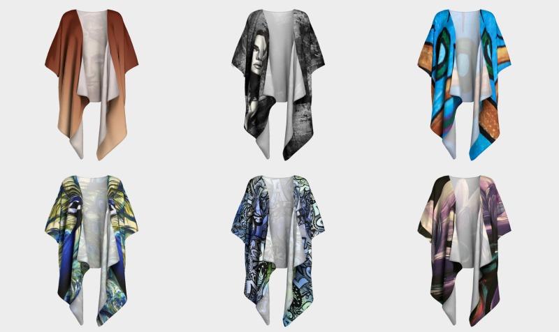Draped Kimono preview