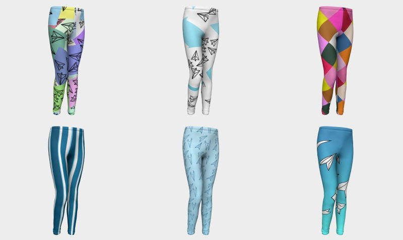Girls Leggings Ages 4-12 preview