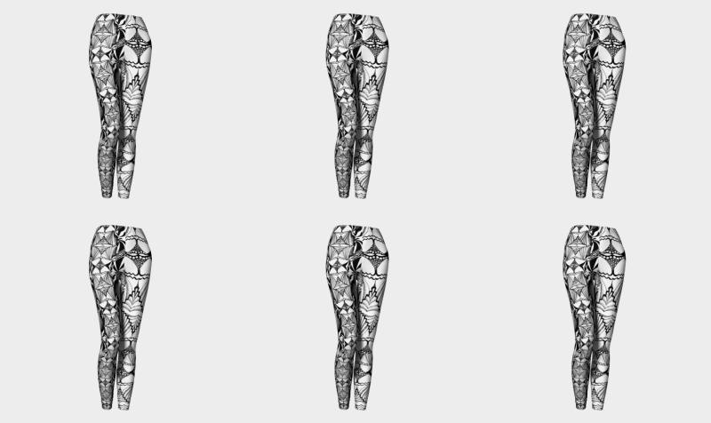 Birth of Venus leggings preview