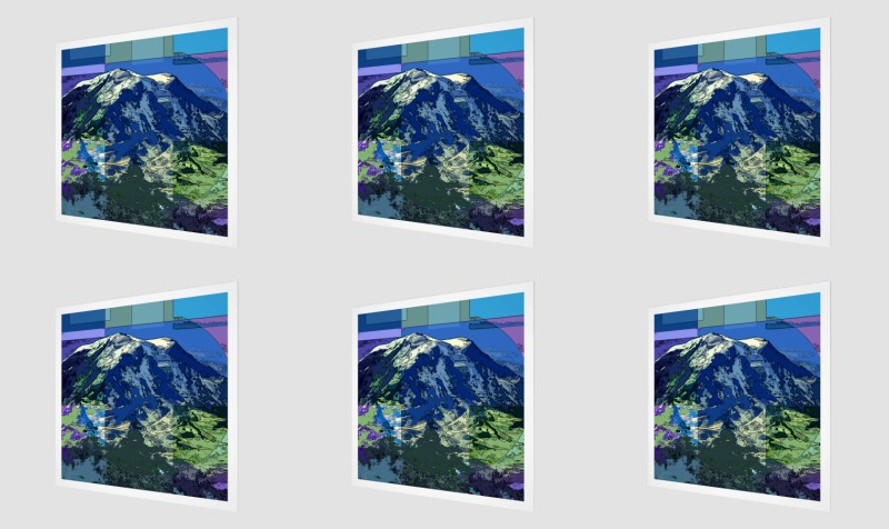 Quilted Mt. Rainier preview