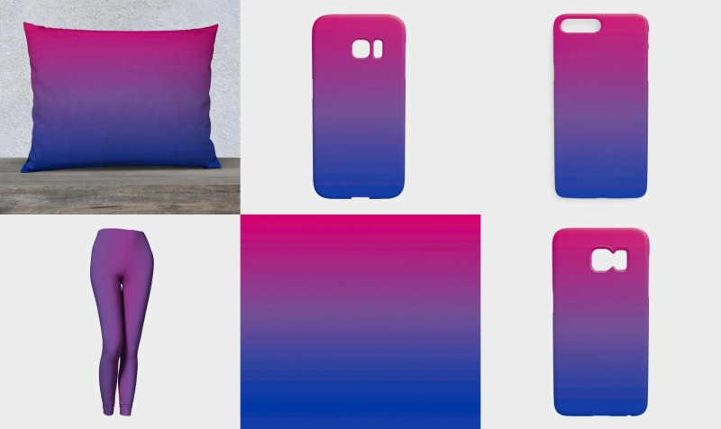 Blue Pink Purple preview
