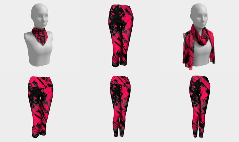 Hot pink digital art G75 preview