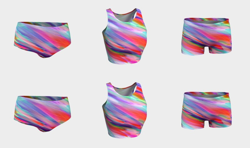 Colorful digital art splashing G399 preview