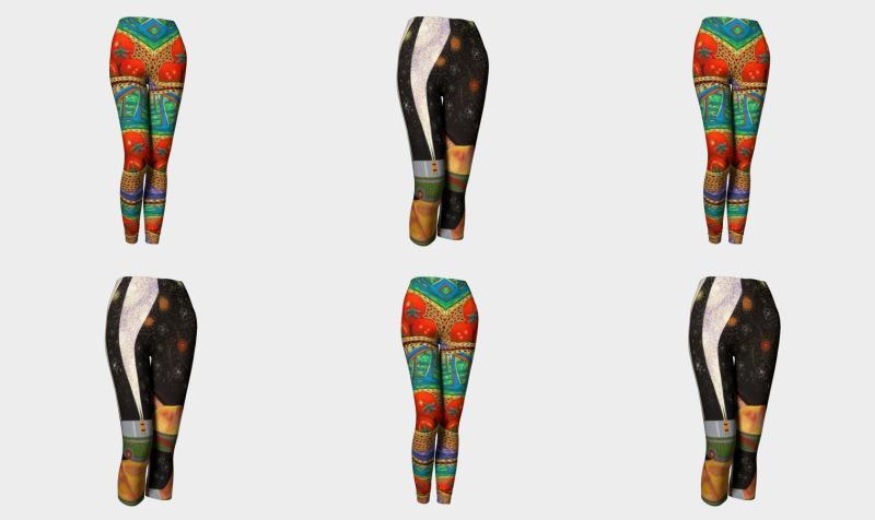 Tomato leggings preview