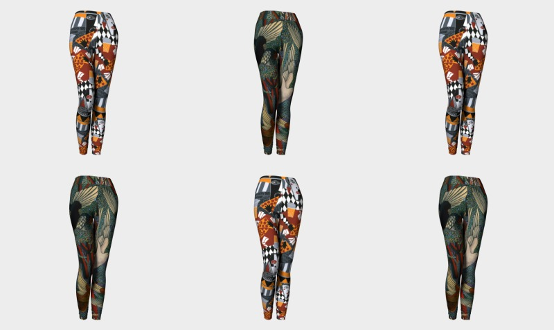 Pizza Eaters Leggings preview