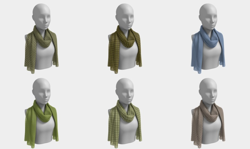 Long Scarves preview
