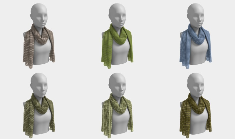 Long Scarves -  Petite Prints preview