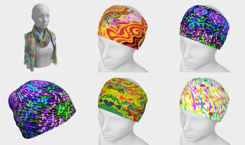 head wear preview