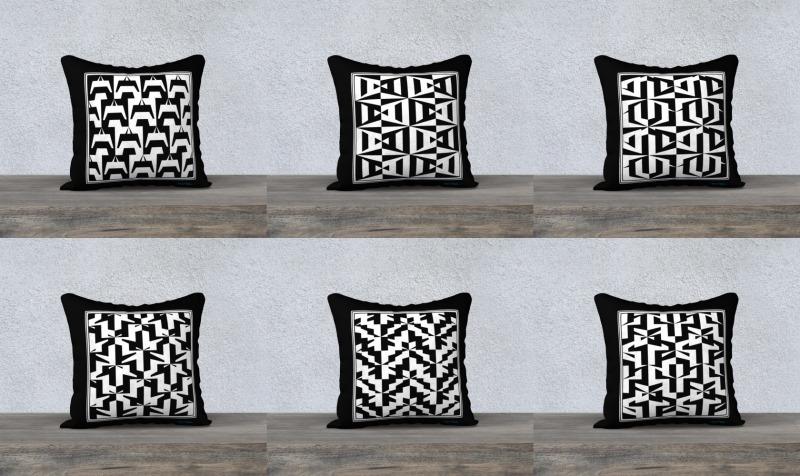 "Aperçu de Signature Pillow Cases (18x18"")"