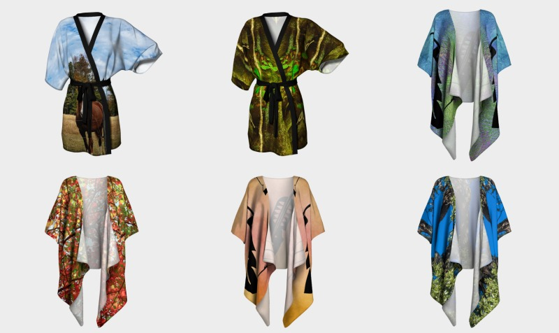 Kimino Robes Draped preview