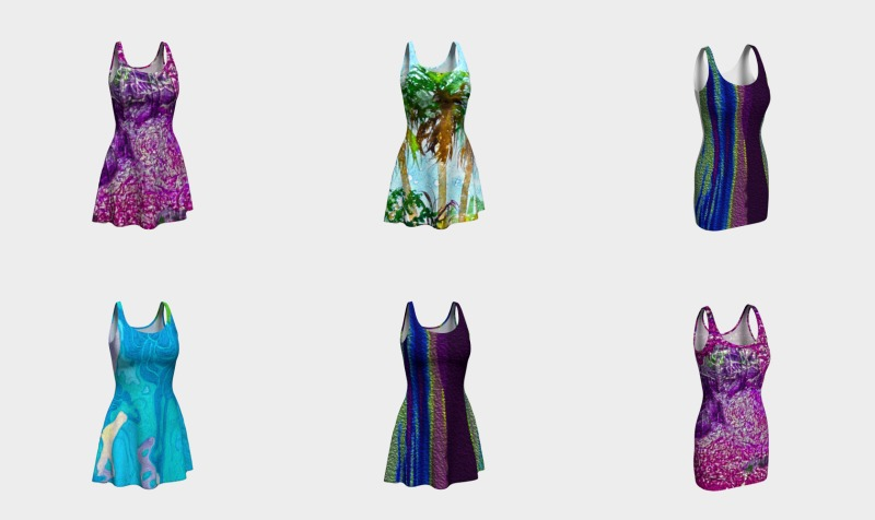 Aperçu de Colorful Designed Dresses by: Christine Dekkers Designs