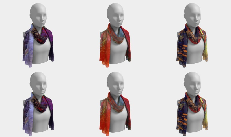 Spiritual Long Scarfs preview
