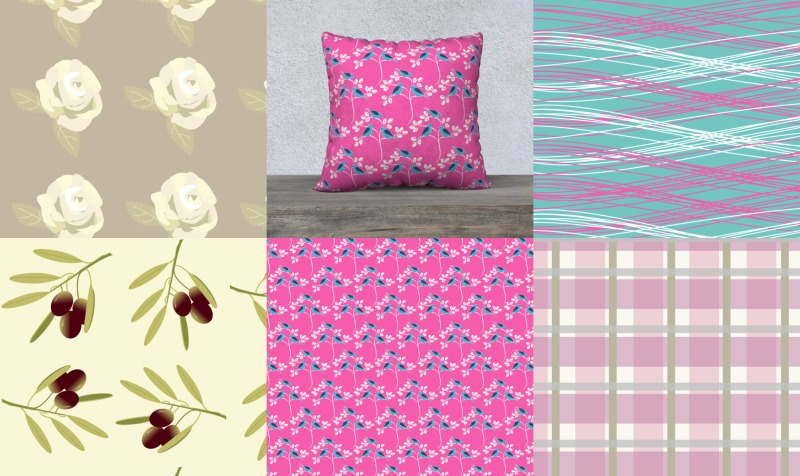 Chalk & Fusion Paint Match Fabrics preview