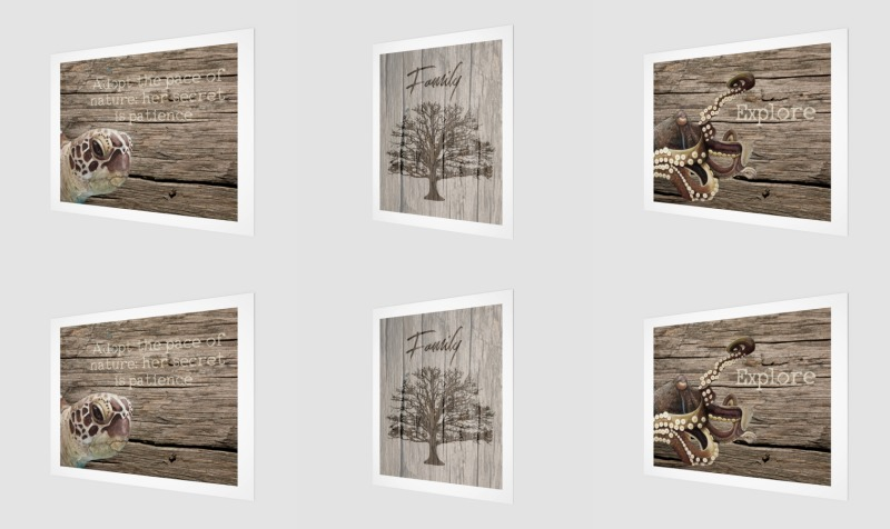 Aperçu de Wood Prints